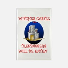 WITCHES CASTLE Rectangle Magnet (10 pack)
