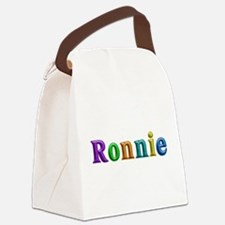 Ronnie Shiny Colors Canvas Lunch Bag