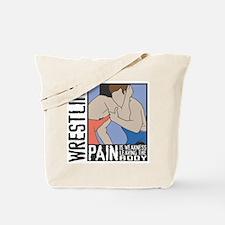Wrestling Pain Tote Bag