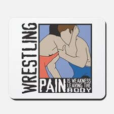 Wrestling Pain Mousepad