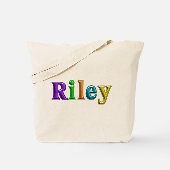 Riley Shiny Colors Tote Bag