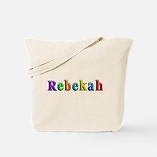 Rebekah Shiny Colors Tote Bag
