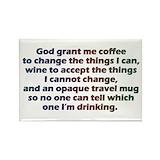 God grant me Magnets