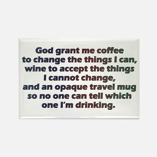 God grant me a travel mug! Magnets