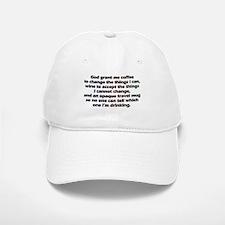 God grant me a travel mug! Baseball Baseball Baseball Cap