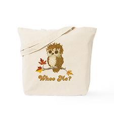 Whoo Me Autumn Owl Tote Bag