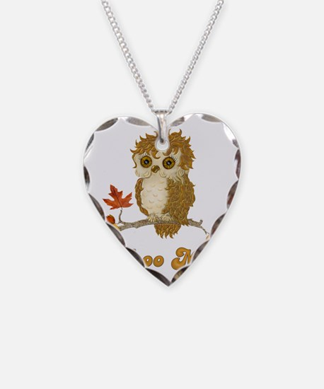Whoo Me Autumn Owl Necklace