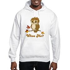 Whoo Me Autumn Owl Hoodie