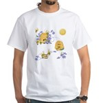 Honey Bee Dance White T-Shirt