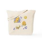 Honey Bee Dance Tote Bag