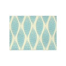 Vintage Pattern 5'x7'Area Rug