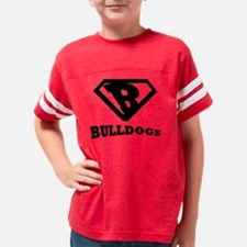 Bulldogs-v1 Youth Football Shirt