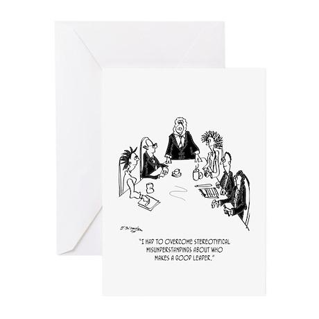 Sheep Executive Greeting Cards (Pk of 10)