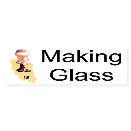 Making Glass Bumper Sticker