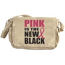 Pink New Black Messenger Bag