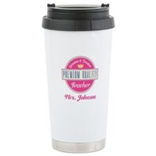 Personalized Vintage Teacher Travel Mug
