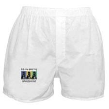 Affenpinscher Ask Boxer Shorts