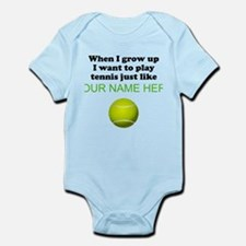 Play Tennis Just Like (Custom) Body Suit
