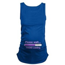 Baby TWINS Loading! Maternity Tank Top