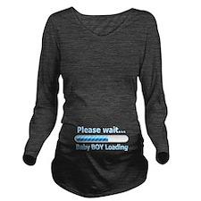 Baby BOY Loading! Long Sleeve Maternity T-Shirt