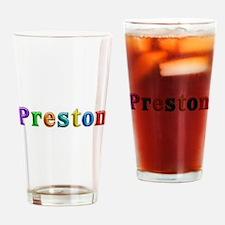 Preston Shiny Colors Drinking Glass