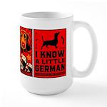 Dachshund Propaganda! Large Mug