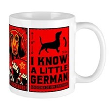 DACHSHUND Propaganda coffee Small Mug