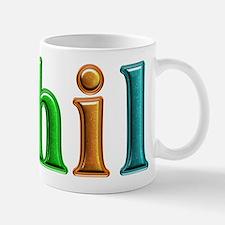 Phil Shiny Colors Mugs