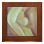 My Heart Framed Tile