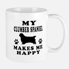 My Clumber Spaniel makes me happy Mug