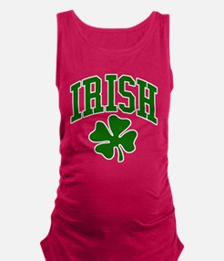 IRISH Shamrock Maternity Tank Top