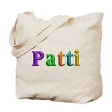 Patti Shiny Colors Tote Bag