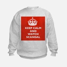 Keep Calm and Watch Scandal Sweatshirt