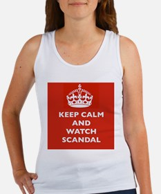 Keep Calm and Watch Scandal Tank Top