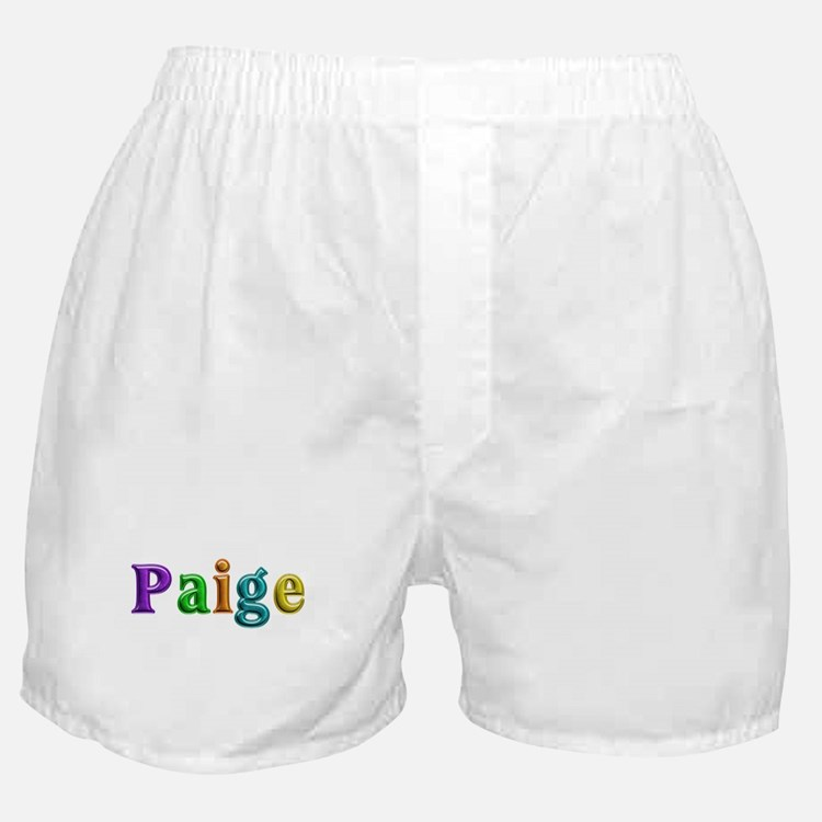 Paige Shiny Colors Boxer Shorts