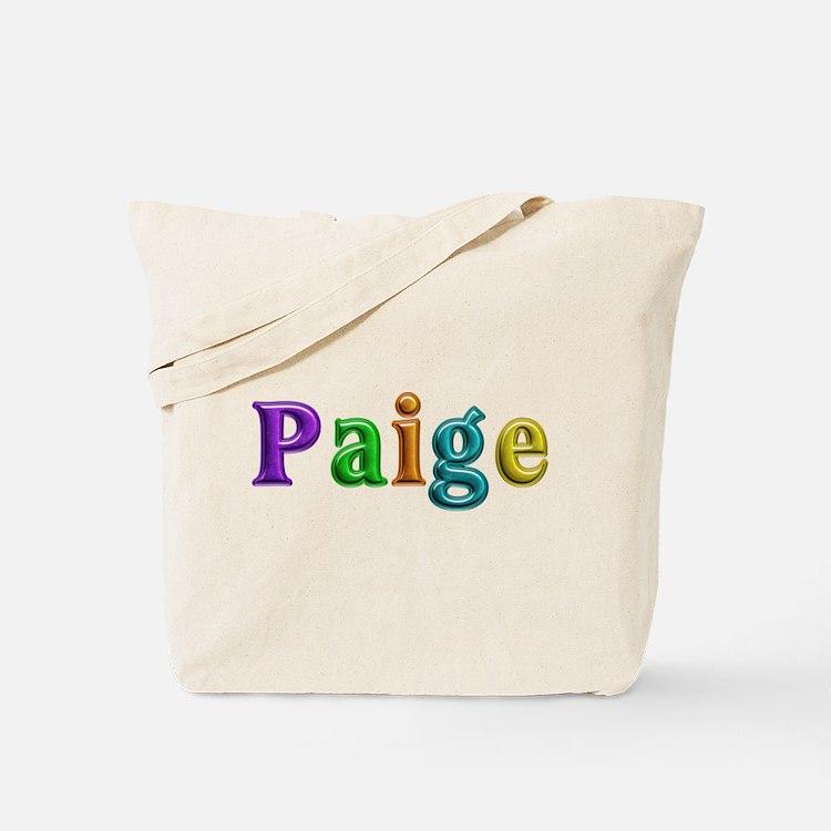 Paige Shiny Colors Tote Bag