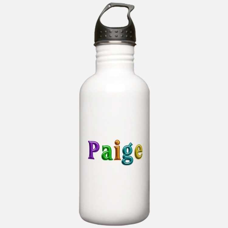 Paige Shiny Colors Water Bottle
