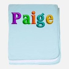 Paige Shiny Colors baby blanket