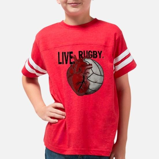 RugbyHeart 10 x 10 Youth Football Shirt