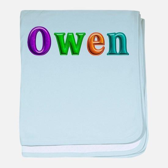 Owen Shiny Colors baby blanket