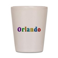 Orlando Shiny Colors Shot Glass