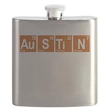 Periodic Austin Texas Flask