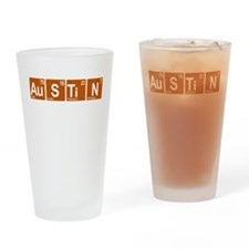 Periodic Austin Texas Drinking Glass
