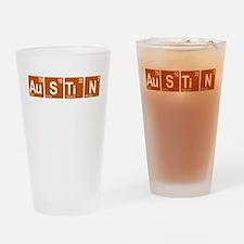Periodic Austin Texas Drinking Glass