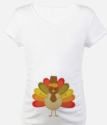Thanksgiving Pilgrim Turkey Shirt