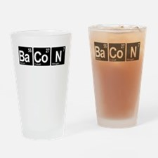 Periodic Bacon Drinking Glass