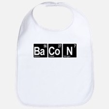 Periodic Bacon Bib