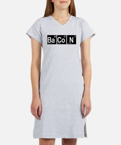 Periodic Bacon Women's Nightshirt