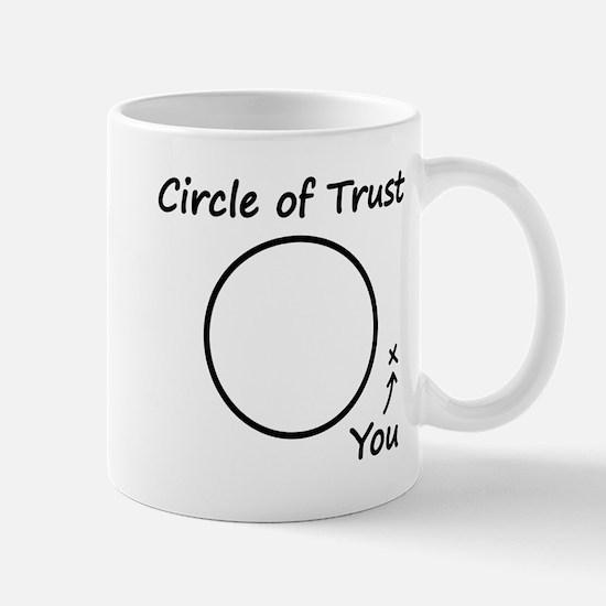 The Circle of Trust Mugs