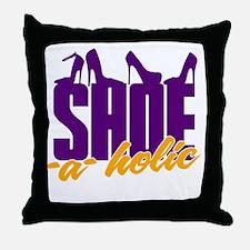 Shoe-A-Holic Throw Pillow